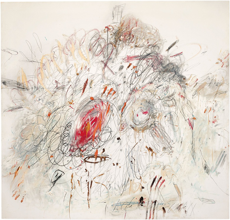 Cy Twombly_s Leda and the Swan