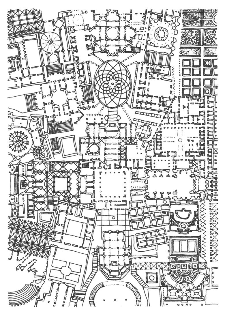 6 ArchiTEXTURE Renaissance – 18x24cm Fineliner on paper