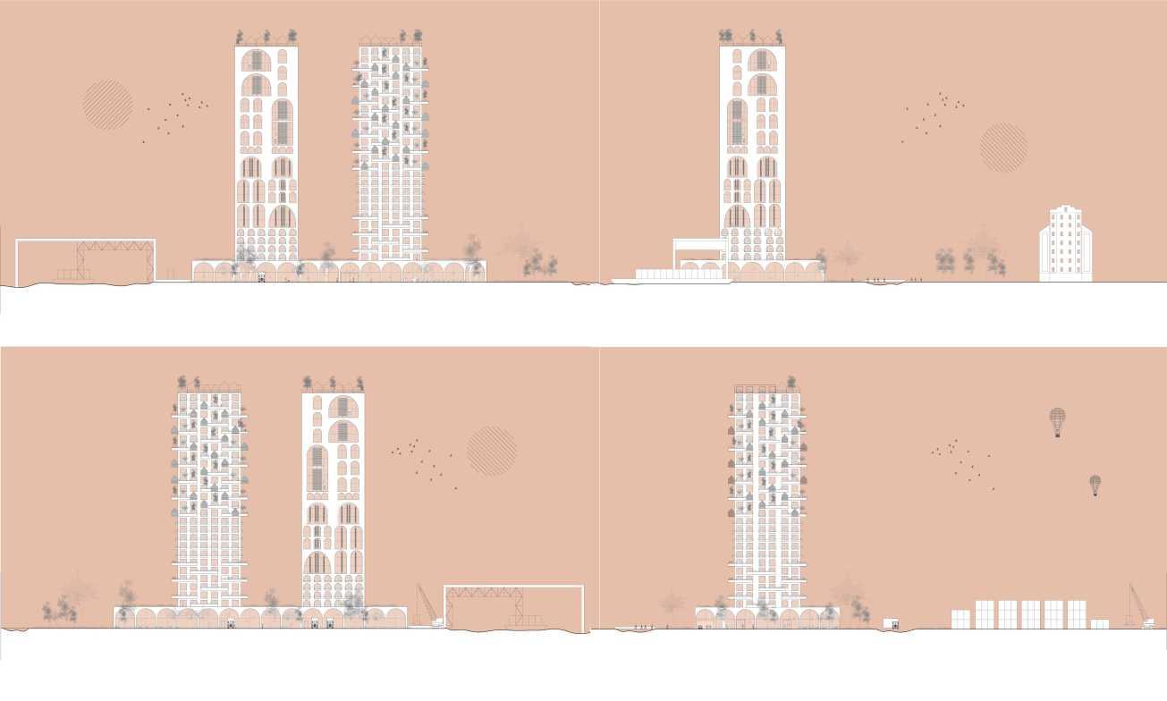 8 facades
