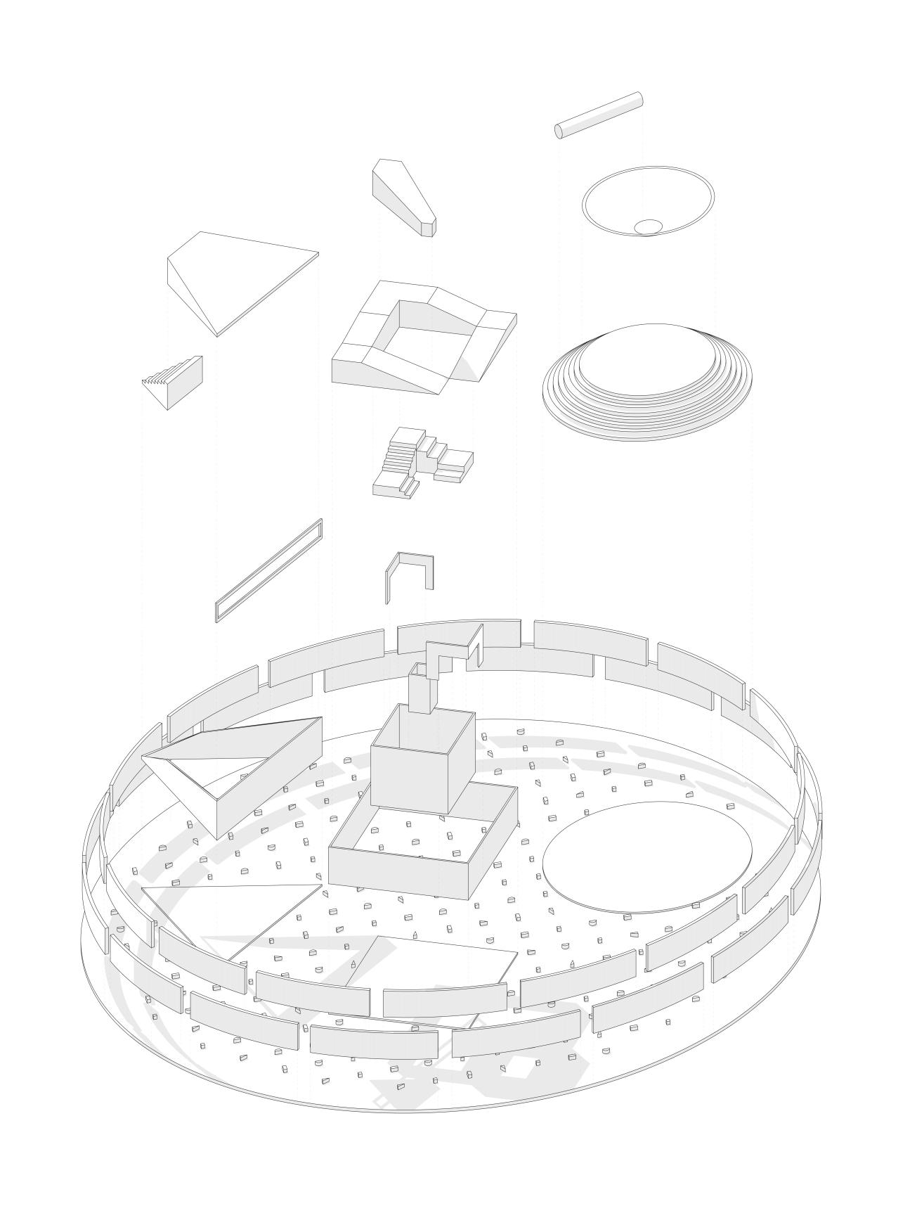 Playground Axonometry