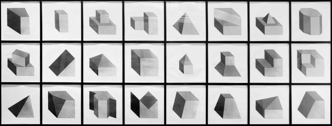 Sol LeWitt_forms derived from a cube